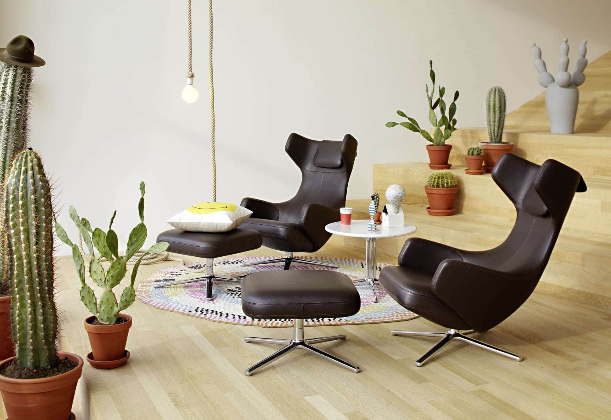 vitra grand repos ottoman tekstil cosy. Black Bedroom Furniture Sets. Home Design Ideas
