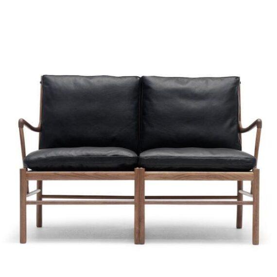 OW149-2 Colonial sofa black walnut oil