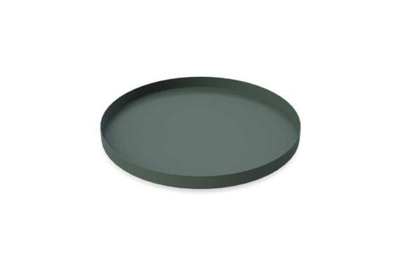 Cooee - Tray 30 cm, Dark green