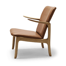 Wanscher OW124 beak chair oak oil sif95