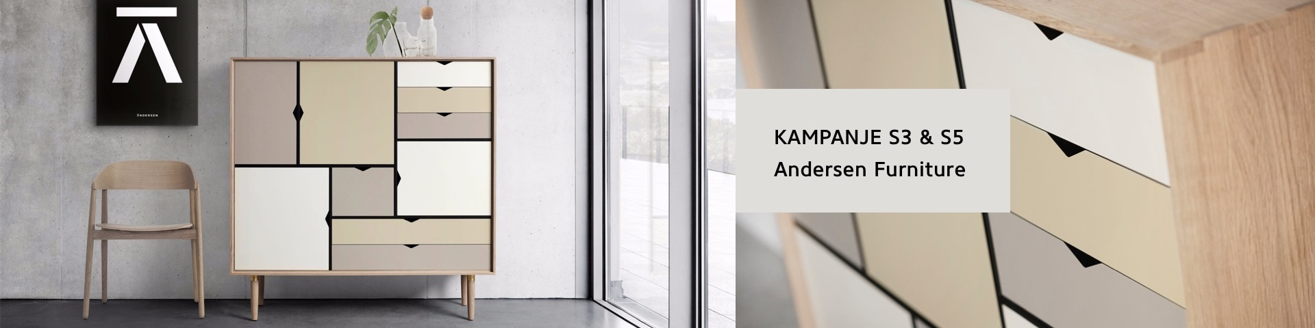 Kampanje S3 & S5 - Andersen Furniture