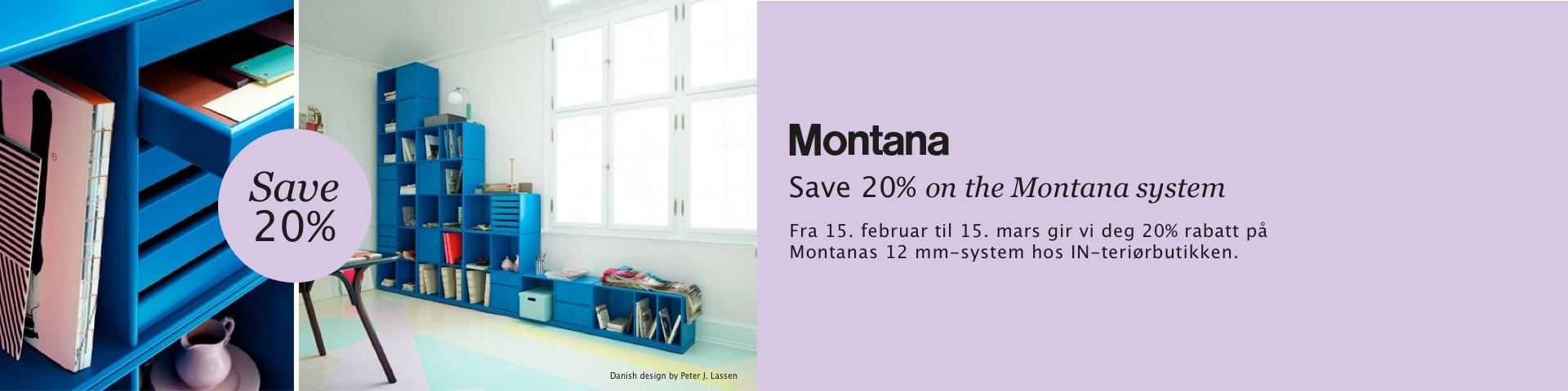 Save 20% on Montana system