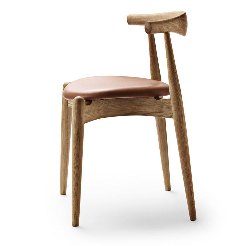 Carl Hansen CH 20 stoler, såpe eik og skinn A