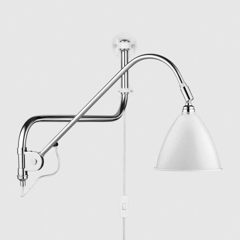 Gubi - BL 10 Vegglampe, White